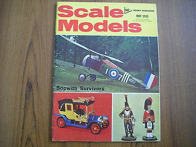 Scale Models Magazine - May 1970