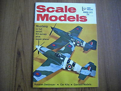 Scale Models Magazine - March 1972