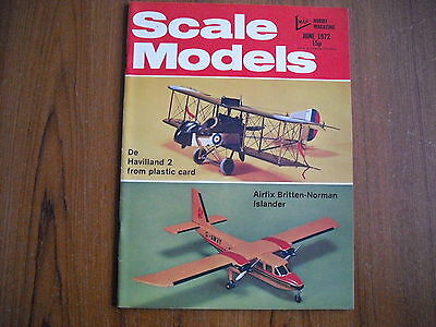 Scale Models Magazine - June 1972