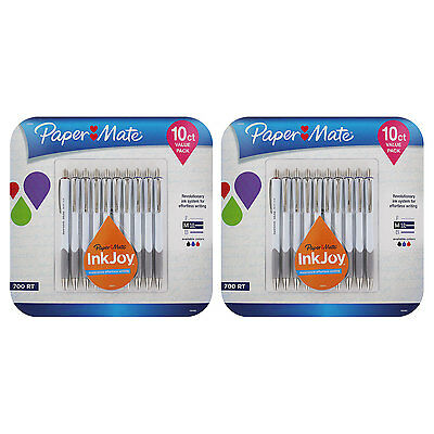 Paper Mate InkJoy 700RT Retractable Ball Point Pen Medium, Assorted, Pack of 20
