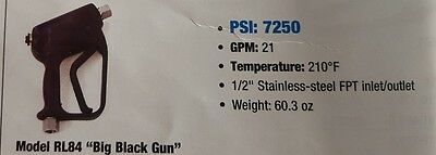 PA Big Black Gun RL84 WOW 21GPM 7250PSI