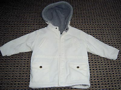 Gant Baby Boys Hooded Zip Front Cord Jacket  Sz 9 Months