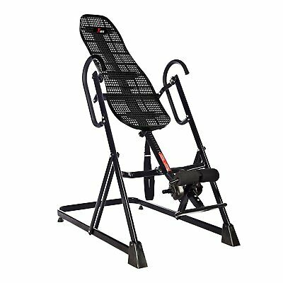 Foldable Inversion Table Back Therapy Fitness Reflexology Pain Relief Exercise