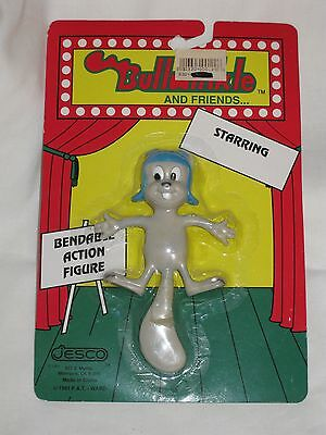 NEW Jesco Bullwinkle And Friends Starring ROCKY Bendable Action Figure #601