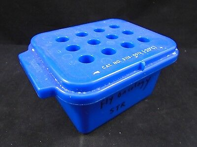 NALGENE 12-Place .2-2mL Microcentrifuge Tube Cryogenic Vial Labtop Cooler Rack