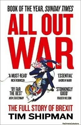 All Out War 9780008215170 Tim Shipman Paperback New Book Free UK Delivery