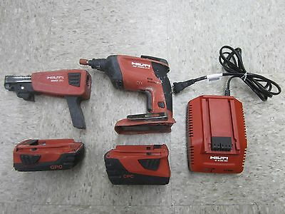 Hilti SD4500-A18 Drill w/ SMD50 Attachment w/ Bundle