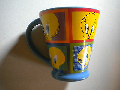 Warner Brothers Studio Tweety Bird Coffee Mug Cup Looney Tunes Sylvester