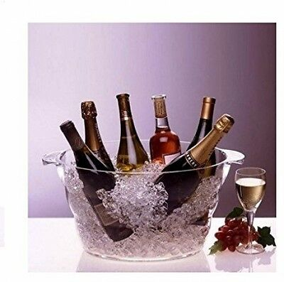 Wine Champagne Beer Bottles Beverage Ice Bucket Chiller Party Event Tub Cooler