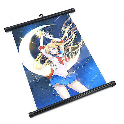 HOT Anime Sailor Moon Tokyo Ghoul Wall Poster Scroll Home Decor Cosplay New Gift