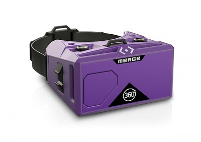 Merge VR - Virtual Reality Headset for iPhone and Android - purple