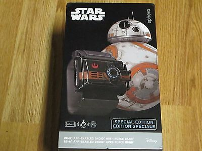 Sphero Star Wars BB-8 App Controlled Enabled Robot with Star Wars Force Band NEW