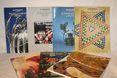 Sotheby's Auction Books New York Lot of 7