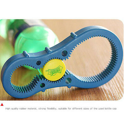 Jar Opener Multi Purpose Jar Lids Bottle Cap Grip Twister Rubber Opener Tool CN