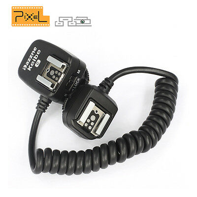 Pixel Keibe 3.6M TTL Off-Camera Flash HotShoe Flashgun sync Cord Cable For Canon