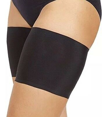 Bandelettes Elastic Anti-Chafing Thigh Bands Unisex Sz A Men Women Black NEW✔️