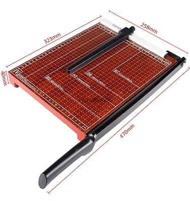 12 Sheets A4 B5 A5 B6 B7 Paper Cutter Trimmer Machine Different Sizes Adjustable