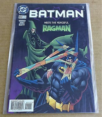 Dc Comics Batman #551  New/unread High Grade Nm  Feb 1998   Free P/p