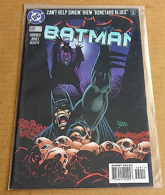 Dc Comics Batman #539  New/unread High Grade Nm  Feb 1997   Free P/p