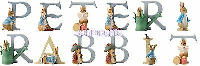 New * Peter Rabbit * Beatrix Potter Alphabet Letters Figurine Ornaments