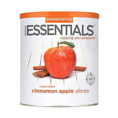 Freeze Dried Cinnamon Apple Slices #10 Can Survival Food