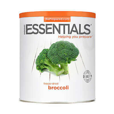 Freeze Dried Broccoli can Survival Food