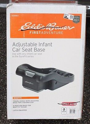 Eddie Bauer - Adjustable Infant Car Seat Base for SUREFIT Series - BRAND NEW