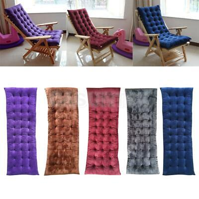 Garden Winter Lounge Chair Pad Thickened Non-slip Bench Cushion Decor 5 Colors