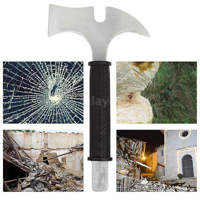 Axe Handle Camping Firewood Piling Splitter Drop Forged Steel Strong Waist K0R7