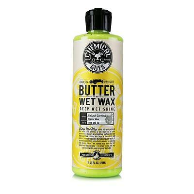 Butter Wet Wax By Chemical Guys Liquid Carnauba Car Wax Deep Shine 473ml