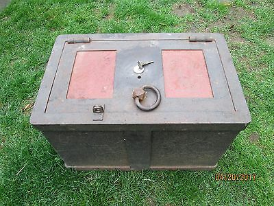 Old Strong Box Safe  Wells Fargo?