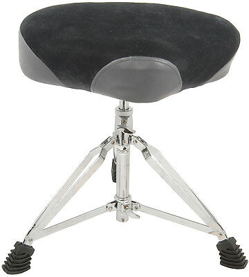 Hd Deluxe Saddle Drum Throne Seat Heavy Duty Stool Chord Cdt-4 180.243uk