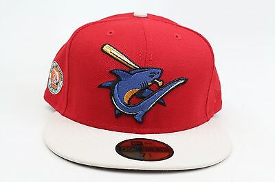 96118bf87a7 Clearwater Threshers Red Stone Florida State League New Era 59Fifty Fitted  Hat