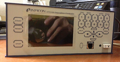 Inficon XTC/3 Thin Film Deposition Controller XTC/3S-1011w/ Handheld Pwr Control