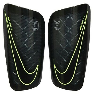 Nike Mercurial Lite Unisex Shin Guards/pads Football Sport Adult Size Large