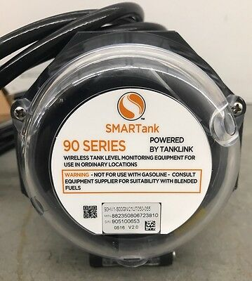 New Oem Smartank 90 Series Wireless Tank Level Monitor Gsm W/ Gps 90Hv1-S00Gn