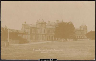 Sepia postcard showing Prince Alfred College, Adelaide, postmarked MR '23