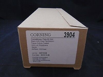 CORNING COSTAR Polystyrene Black 96-Place Deep Well Treated Plate (Case of 19)