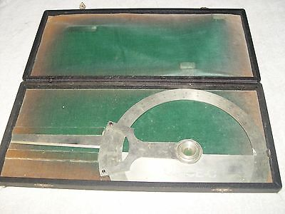 Large Drawing or Drafting Protractor by Keuffel and Esser