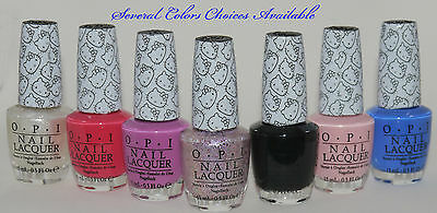 OPI Hello Kitty Collection Nail Polish Lacquer 0.5 oz **several color choices