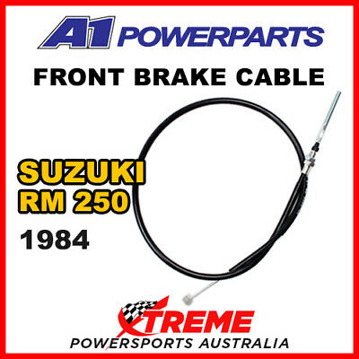 A1 Powersports Suzuki RM250 RM 250 1984 Front Brake Cable 52-056-30