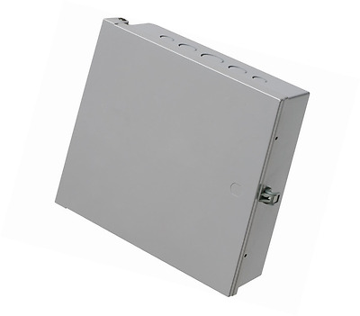 "Arlington EB1212-1 Electronic Equipment Enclosure Box, 12"" x 12"" x 4"", Non-Metal"