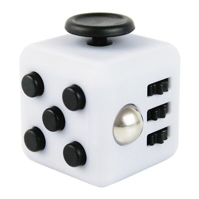Magic Fidget Cube Anxiety Stress Relief Focus 6-side Gift For Adults & Child Toy
