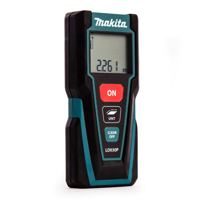 Makita LD030P Pocket Sized Laser Distance Measure 30M For Indoor Application