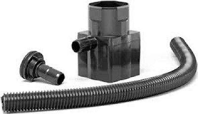 Straight Water Butt Rain Diverter Kit for Square 65mm & Round 68mm Pipe - NEW