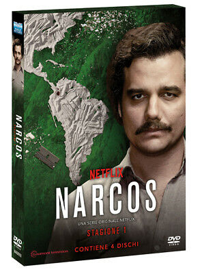 Narcos Stagione 1 (Pablo Escobar Netflix) (4 DVD) EAGLE PICTURES