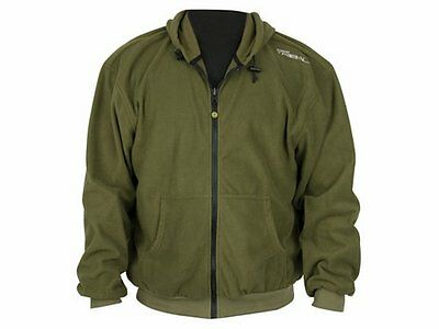 Shimano Tribal Fleece Jacke Hardwood Green Angelbekleidung Gr. XXL