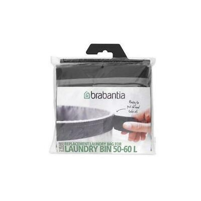 Brabantia Replacement Inner Bag for Laundry Bin, 60 L - Grey