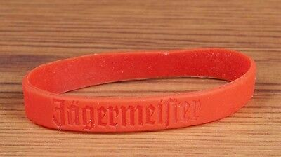 JAGERMEISTER Orange Rubber Wrist Band Party Club LOT OF 14