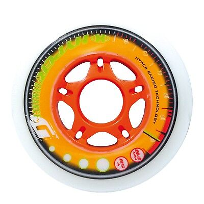 HYPERFORMANCE +G 8er Set Rollen white/orange